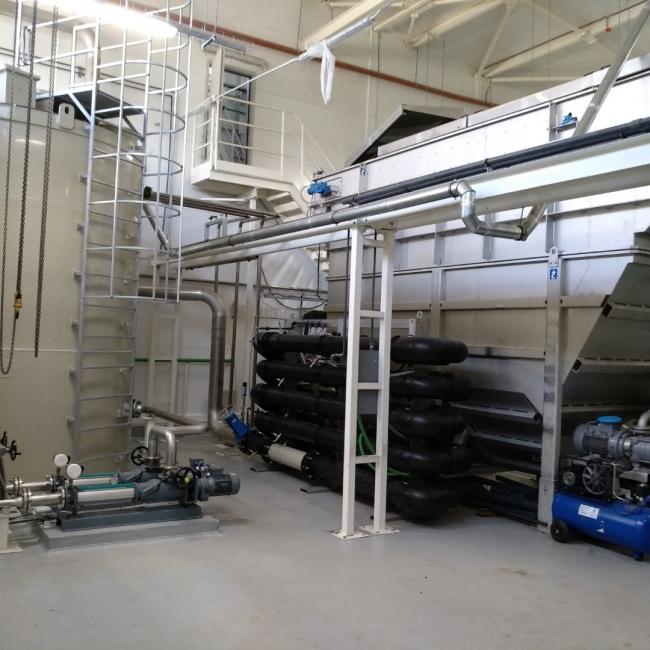 На «Рубцовском молочном заводе» запущены очистные сооружения