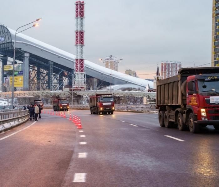 ВПодмосковье открыли первый этап многоуровневой развязки вКрасногорске